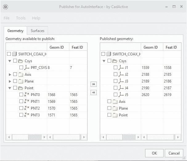 AutoInterface Publisher GUI